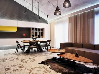 工业社会阁楼设计欣赏客餐厅