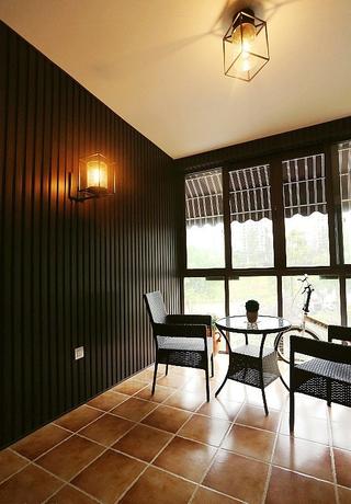 105平简约三居室住宅欣赏阳台灯饰