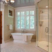 高端大气美式别墅欣赏卫生间