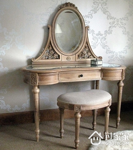 梳妆台清洁保养技巧  让家具历久如新
