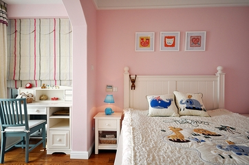 88平美式三居室两厅欣赏儿童房
