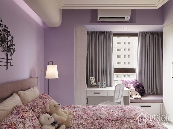80平温馨两居室欣赏卧室局部