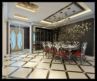 法式风格设计样板房赏析餐厅设计