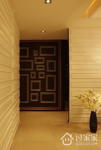 现代美式家装的清新格调过道设计