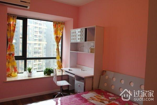 简约风格两室两厅欣赏卧室效果