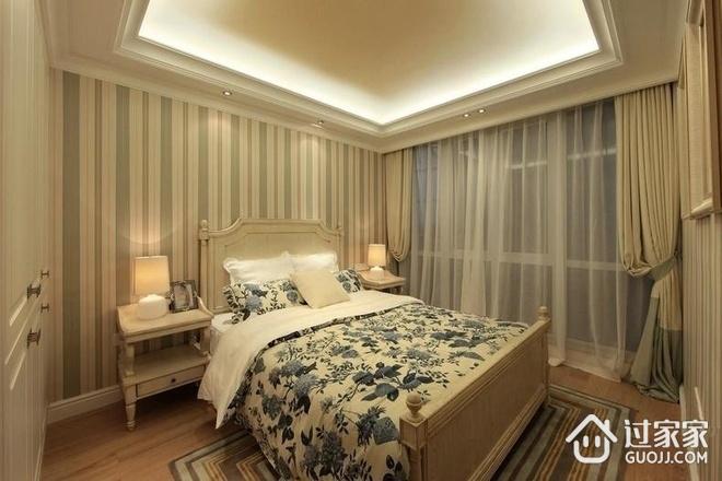 卧室吊顶装修效果图 清新田园家居
