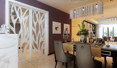 112平简约舒适住宅欣赏餐厅局部