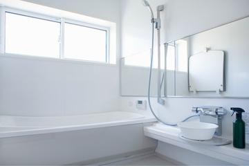 白色日式风格两居欣赏卫生间