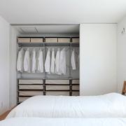 89平日式风格别墅欣赏卧室