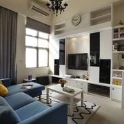 60平实用复式住宅欣赏客厅