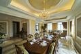 新古典别墅餐厅吊顶