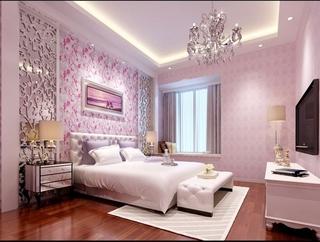 简欧风格精致住宅欣赏卧室