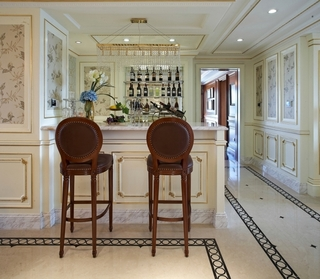 法式奢华住宅欣赏过道陈设