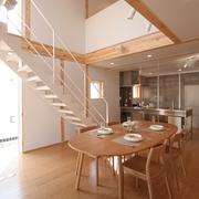 78平清爽日式风欣赏餐厅