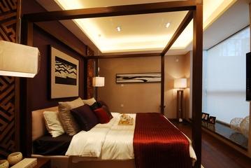 中式套图卧室装修