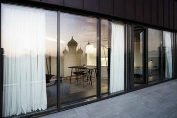开阔明亮一室一厅欣赏阳台