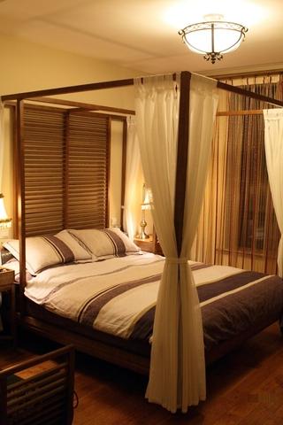 东南亚风格住宅卧室设计