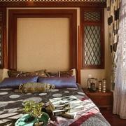 东南亚奢华装修床品