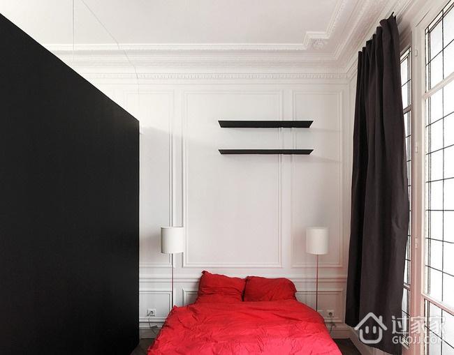 28平白色现代一居室欣赏