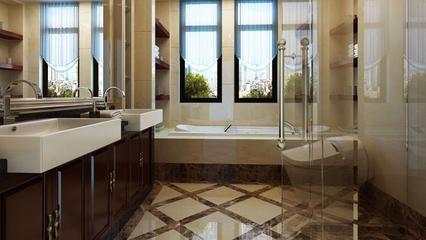 混搭时尚大宅设计欣赏卫生间