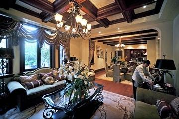 116平美式风格住宅欣赏