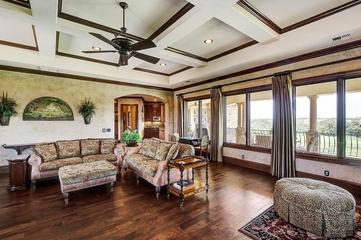 法式装饰别墅设计家庭厅