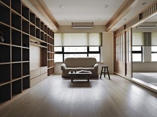 自然风雅日式住宅欣赏书房