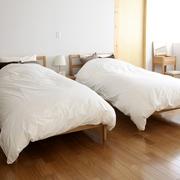 白色日式风格两居欣赏卧室陈设
