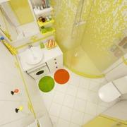 清爽30平小户型设计欣赏卫生间