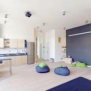 68平适合居住现代欣赏厨房