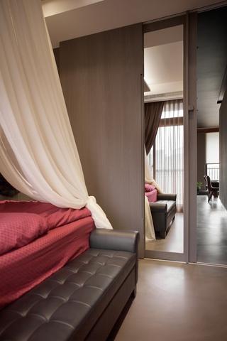灰色现代品味住宅欣赏卧室