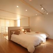 78平清爽日式风欣赏卧室设计
