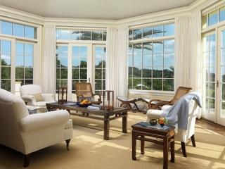 法式私人庄园欣赏客厅效果