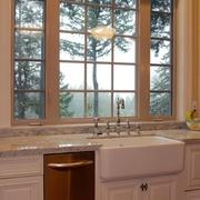 美式石英石橱柜洗菜池