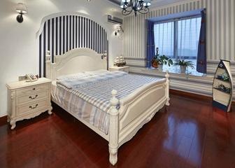 地中海住宅效果图欣赏卧室