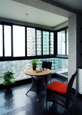 东南亚风格案例欣赏阳台设计