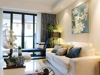 田园柔美设计欣赏客厅