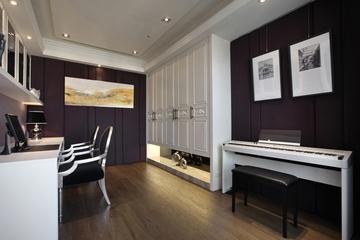 新古典白色典雅效果图欣赏卧室设计