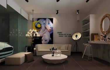 新古典大四居住宅欣赏客厅灯具