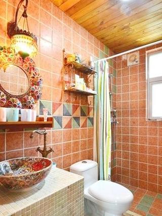 50平老房改造欣赏卫生间