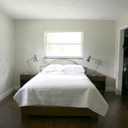 与森林呼应的现代风格欣赏卧室陈设