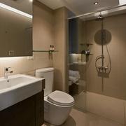 现代简约住宅套图卧室卫浴