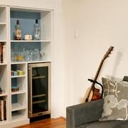 现代风格装饰效果套图客厅背景墙设计