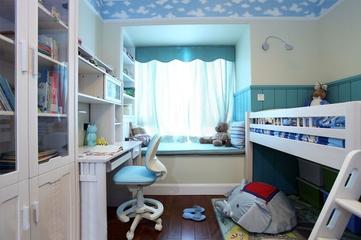 田园淑女气质住宅欣赏儿童房设计