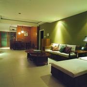 东南亚风格效果图客厅家具