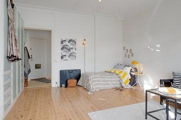 39平小户型住宅欣赏卧室效果