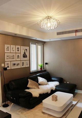 80平三居室现代风欣赏