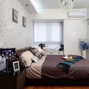 现代设计三居效果图欣赏卧室