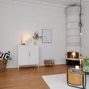 60平北欧舒适公寓欣赏过道