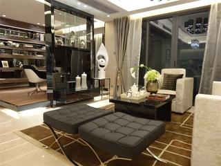 现代客厅隔断装修效果图 时尚大气